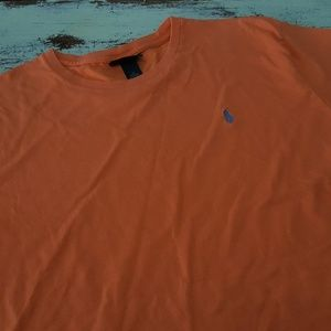 Polo by Ralph Lauren Orange Short Sleeve T-Shirt